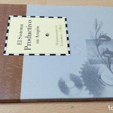 Libros de segunda mano: EL SISTEMA PRODUCTIVO EN ARAGON / CAI 1OO ARAGON - COL. Lote 222248522