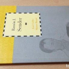 Libros de segunda mano: RAMON J SENDER / CAI 1OO ARAGON - COL. Lote 222249213
