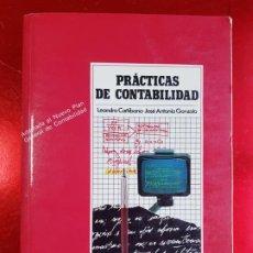 Libros de segunda mano: LIBRO-PRÁCTICAS DE CONTABILIDAD-LEANDRO CAÑIBANO/JOSÉ ANTONIO GONZALO-1990-3ªEDICIÓN-EXCELENTE-VER F. Lote 222291907