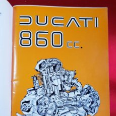 Libros de segunda mano: MANUAL-INSTRUCCIONES-DUCATI 860 CC-COLECCIONISTAS-ANTIGUO-VER FOTOS. Lote 222293627