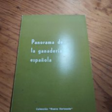 Libros de segunda mano: PANORAMA DE LA GANADERÍA ESPAÑOLA - EDICIONES DEL MOVIMIENTO - AÑO 1967. Lote 222294237