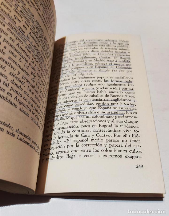 Libros de segunda mano: América hispanohablante, la: unidad y diferenciación del castellano | Malmberg, Bertil | Istmo, 1974 - Foto 6 - 222301448