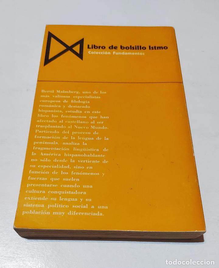 Libros de segunda mano: América hispanohablante, la: unidad y diferenciación del castellano | Malmberg, Bertil | Istmo, 1974 - Foto 7 - 222301448