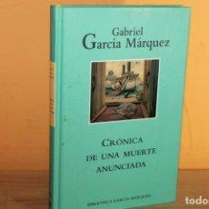 Libros de segunda mano: CRONICA DE UNA MUERTE ANUNCIADA / GABRIEL GARCIA MARQUEZ. Lote 222311095