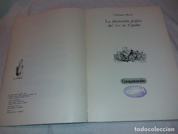 Libros de segunda mano: LA ILUSTRACION GRAFICA DEL SIGLO XIX EN ESPAÑA, VALERIANO BOZAL. COMUNICACION 1979 - Foto 2 - 222329467