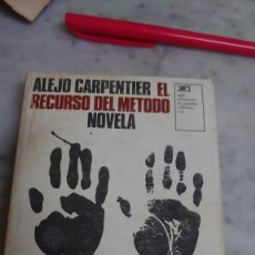 Livros em segunda mão: PRPM 14 (COMPRA MÍNIMA 5 EU) ALEJO CARPENTIER. EL RECURSO DEL MÉTODO DE LA NOVELA. Lote 222367128