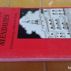 Libros de segunda mano: ANECDOTARIO MENDAVIES - ENTREMESES RIBERA NAVARRA - A ELVIRA, M I SAINZ - MENDAVIA X102. Lote 222381401