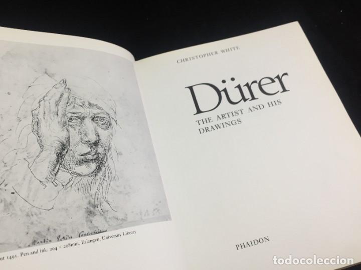 Libros de segunda mano: Dürer: The Artist and His Drawings. Christopher White, Phaidon 1981. Inglés ilustrada. - Foto 3 - 222390330