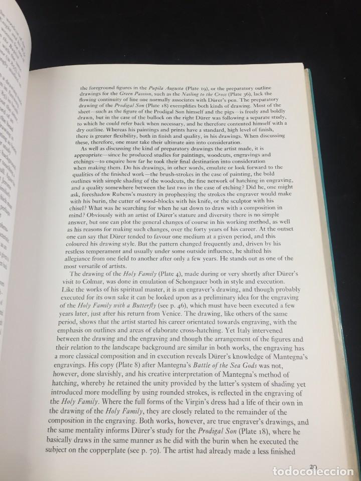 Libros de segunda mano: Dürer: The Artist and His Drawings. Christopher White, Phaidon 1981. Inglés ilustrada. - Foto 15 - 222390330