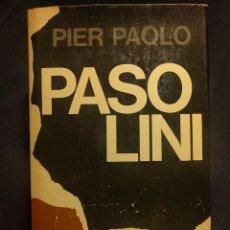 Libros de segunda mano: MUCHACHOS DE LA CALLE. PIER PAOLO PASOLINI. BARCELONA. EDITORIAL PLANETA. 1973.. Lote 222399208