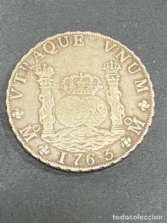 MONEDA. 8 REALES. CARLOS III. 1763. MEXICO MF. COLUMNARIO. VER FOTOS (Libros de Segunda Mano - Pensamiento - Otros)