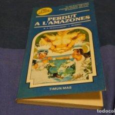 Libri di seconda mano: LIBROJUEGO EN CATALAN 1-2 PAGINAS CORTESIA ROTAS, TRIA LA TEVA PROPIA AVENTURA 14 PERDUT AL AMAZONES. Lote 222438061