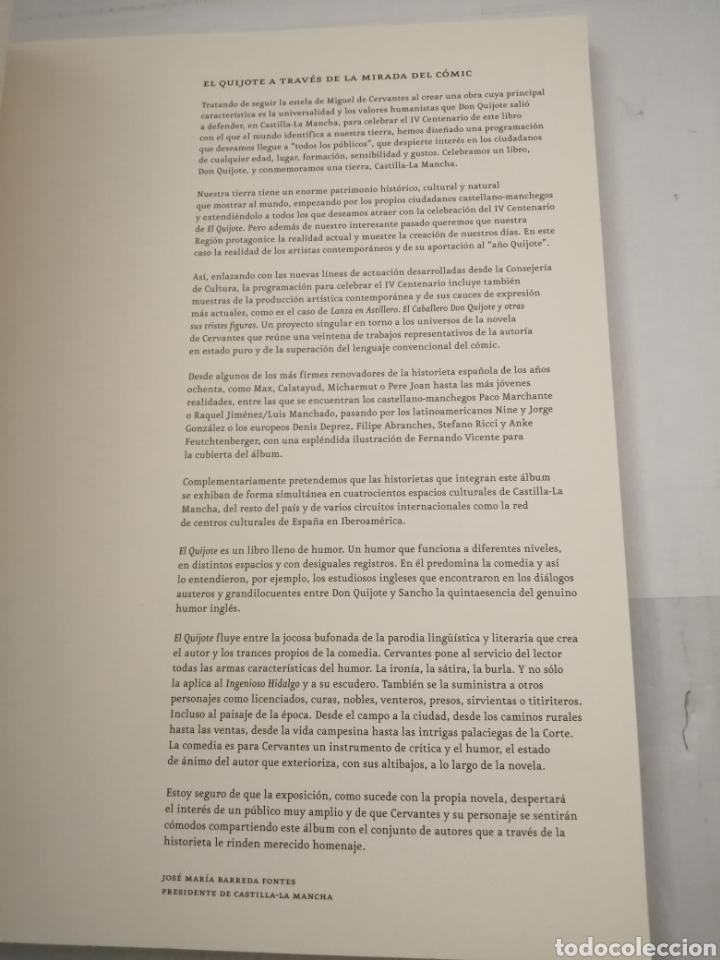 Libros de segunda mano: LANZA EN ASTILLERO. El Caballero Don Quijote y otras sus tristes figuras (Primera edición) - Foto 10 - 222439783