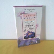 Livres d'occasion: DIETMAR KRAMER Y HELMUT WILD - NUEVOS MAPAS CORPORALES DE LAS FLORES DE BACH - EDICIONES SIRIO 2000. Lote 222539370
