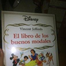 Libros de segunda mano: EL LIBRO DE LOS BUENOS MODALES DE VINCENT JEFFERS. WALT DISNEY. Lote 261873455