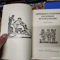Livros em segunda mão: LEYENDAS Y CUENTOS CASI OLVIDADOS DE LAS ISLAS BALEARES. G. SABRAFÍN . MALLORCA, MENORCA, IBIZA. Lote 222548028
