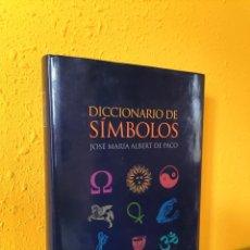 Livros em segunda mão: DICCIONARIO DE SÍMBOLOS.JOSE MARÍA ALBERT DE PACO. EDITORIAL OPTIMA. Lote 222564255