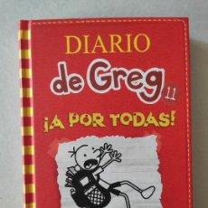 Libros de segunda mano: DIARIO DE GREG 11 ¡ A POR TODAS!. ELVIRA LINDO. ANAYA. Lote 222575348