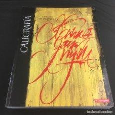 Libros de segunda mano: CALIGRAFÍA-DEL SIGNO CALIGRAFICO A LA PINTURA ABSTRACTA-CLAUDE MEDIAVILLA-CAMPGRAFIC-2005. Lote 222606765
