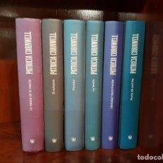 Libros de segunda mano: COLECCION NOVELAS PATRICIA CORNWELL. 2008. Lote 222615831