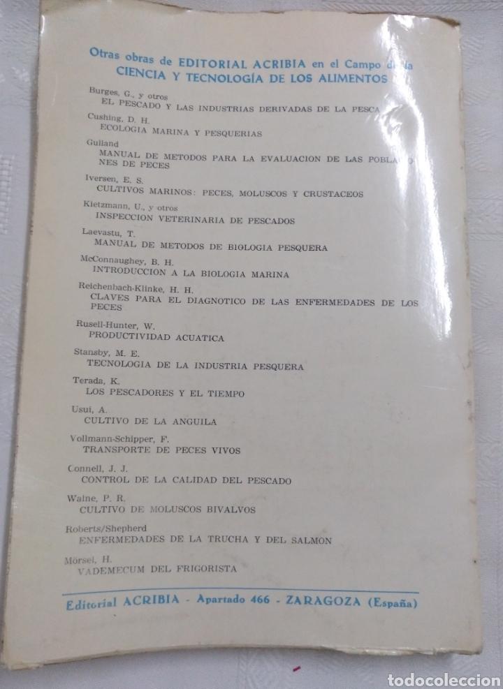 Libros de segunda mano: EL PESCADO Y LOS PRODUCTOS DE LA PESCA. W.LUDORFF/V.MEYER.1973 - Foto 3 - 222616771