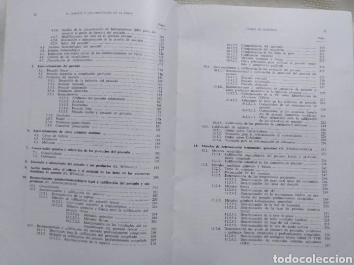 Libros de segunda mano: EL PESCADO Y LOS PRODUCTOS DE LA PESCA. W.LUDORFF/V.MEYER.1973 - Foto 4 - 222616771