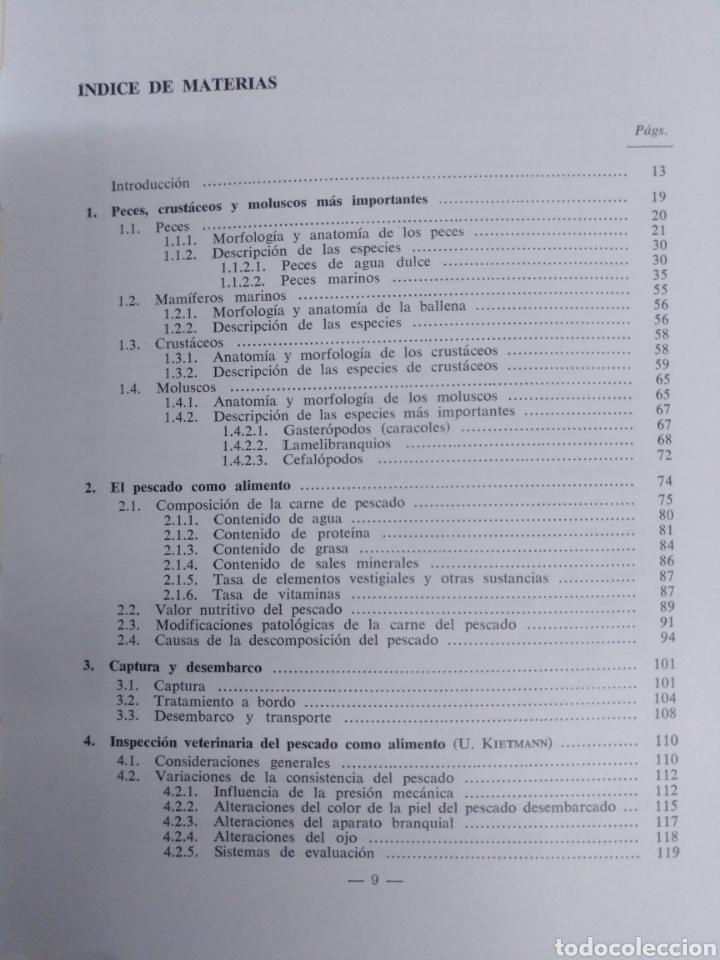 Libros de segunda mano: EL PESCADO Y LOS PRODUCTOS DE LA PESCA. W.LUDORFF/V.MEYER.1973 - Foto 5 - 222616771