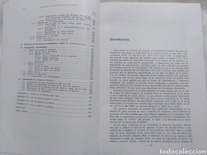 Libros de segunda mano: EL PESCADO Y LOS PRODUCTOS DE LA PESCA. W.LUDORFF/V.MEYER.1973 - Foto 7 - 222616771