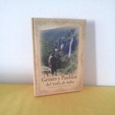 Libros de segunda mano: BLANCA BUSTAMANTE LERENA Y FERNANDO MORENO RODRIGUEZ - GENTE Y PUEBLOS DEL VALLE DE SOHA. Lote 222622792