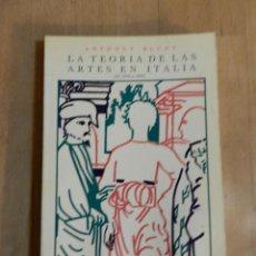 Livros em segunda mão: ANTHONY BLUNT - LA TEORÍA DE LAS ARTES EN ITALIA DE 1450 A 1600 - 1979 - LIBRO TEORÍA DEL ARTE. Lote 222651246