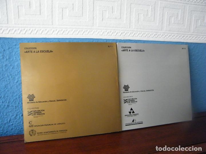 Libros de segunda mano: PINTURA Y ESCULTURA CONTEMPORÁNEA ARAGONESA A LA ESCUELA - COORDINACIÓN: MANUEL VAL - Foto 2 - 222663933