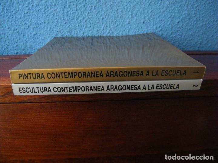 Libros de segunda mano: PINTURA Y ESCULTURA CONTEMPORÁNEA ARAGONESA A LA ESCUELA - COORDINACIÓN: MANUEL VAL - Foto 3 - 222663933