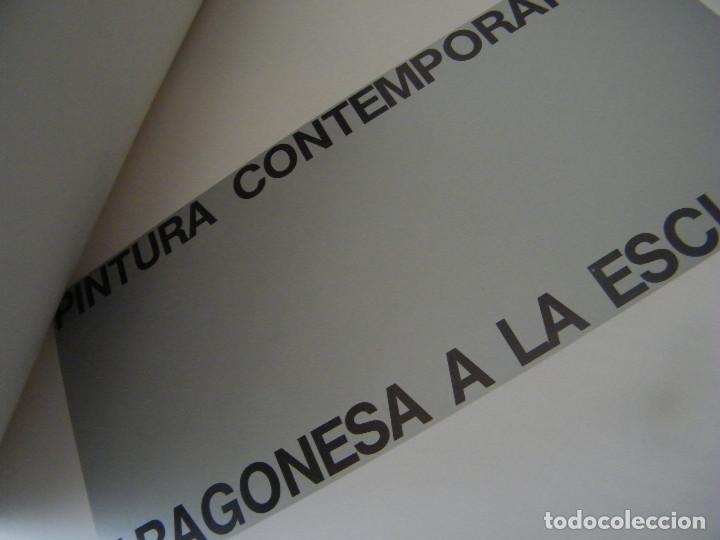 Libros de segunda mano: PINTURA Y ESCULTURA CONTEMPORÁNEA ARAGONESA A LA ESCUELA - COORDINACIÓN: MANUEL VAL - Foto 4 - 222663933