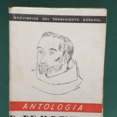 Libros de segunda mano: ANTOLOGÍA P. RIVADENEIRA EDICIONES FE. Lote 222677437