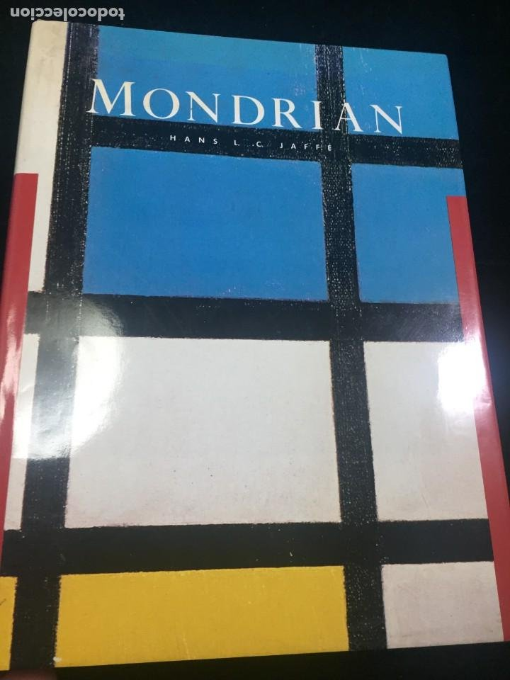 PIET MONDRIAN JAFFÉ HANS. HARRY N. ABRAMS, INC. PUBLISHERS, 1985. ILUSTRADO TEXTOS EN INGLÉS. (Libros de Segunda Mano - Bellas artes, ocio y coleccionismo - Otros)