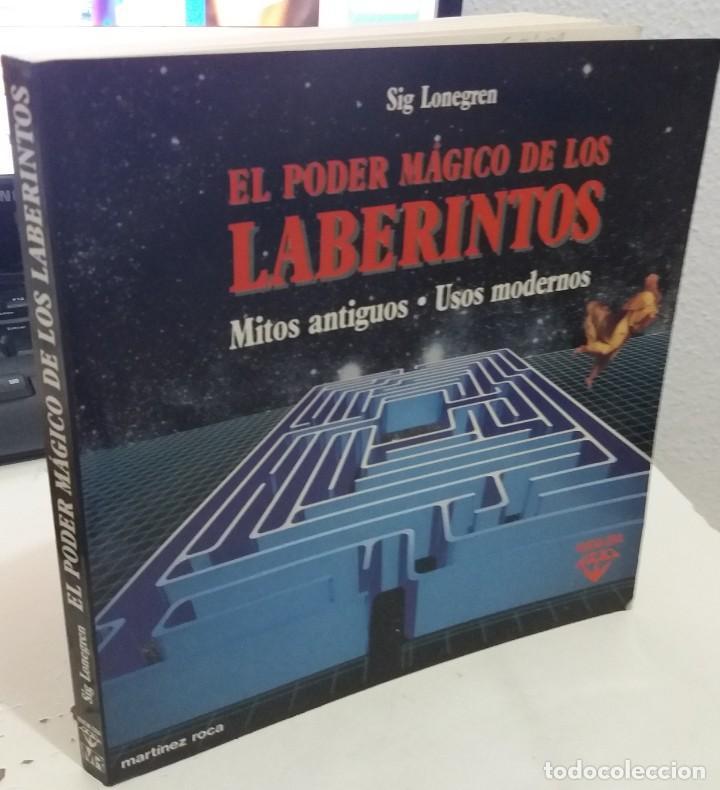 EL PODER MÁGICO DE LOS LABERINTOS - LONEGREN, SIG (Libros de Segunda Mano - Parapsicología y Esoterismo - Otros)