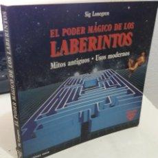 Libri di seconda mano: EL PODER MÁGICO DE LOS LABERINTOS - LONEGREN, SIG. Lote 222701206