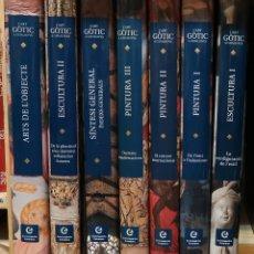 Libri di seconda mano: L'ART GÒTIC A CATALUNYA ENCICLOPÈDIA CATALANA PINTURA ESCULTURA SÍNTESI ARTS ULTIMA SEMANA. Lote 222718197