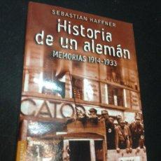 Libros de segunda mano: HISTORIA DE UN ALEMAN. 1914-1933 - HAFFNER, SEBASTIAN. Lote 222727787