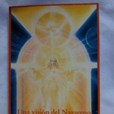 Libri di seconda mano: UNA VISIÓN DEL NAZARENO / CYRIL SCOTT. Lote 222741958
