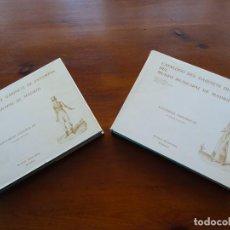 Libros de segunda mano: CATALOGO DEL GABINETE DE ESTAMPAS DEL MUSEO MUNICIPAL DE MADRID, ESPAÑOLAS 2 TOMOS. Lote 222798452