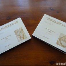 Libros de segunda mano: CATALOGO DEL GABINETE DE ESTAMPAS DEL MUSEO MUNICIPAL DE MADRID, EXTRANJERAS 2 TOMOS. Lote 222798533