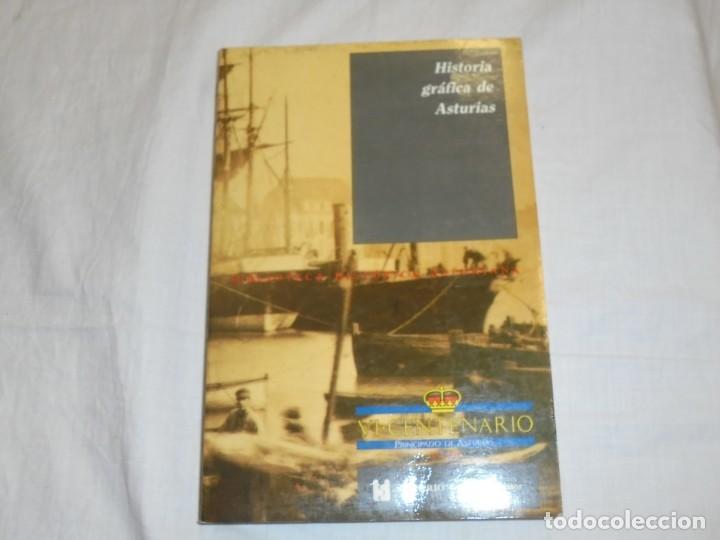 HISTORIA GRAFICA DE ASTURIAS.JAVIER RODRIGUEZ MUÑOZ.BIBLIOTECA HISTORICA ASTURIANA.SILVERIO CAÑADA 1 (Libros de Segunda Mano - Historia - Otros)