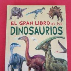 Libros de segunda mano: EL GRAN LIBRO DE LOS DINOSAURIOS, SERVILIBRO.. Lote 222833830