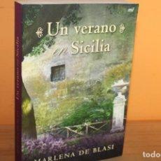 Libros de segunda mano: UN VERANO EN SICILIA / MARLENA DE BLASI. Lote 222837392