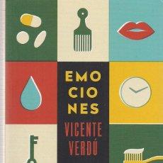 Libros de segunda mano: VICENTE VERDÚ : EMOCIONES. 206 P. ED. TAURUS, PENSAMIENTO, 2019. Lote 222837943