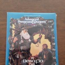 Libros de segunda mano: EL DESAFÍO DEL GUERRERO. DUNGEONS DRAGONS. PRECINTADO.. Lote 222843220