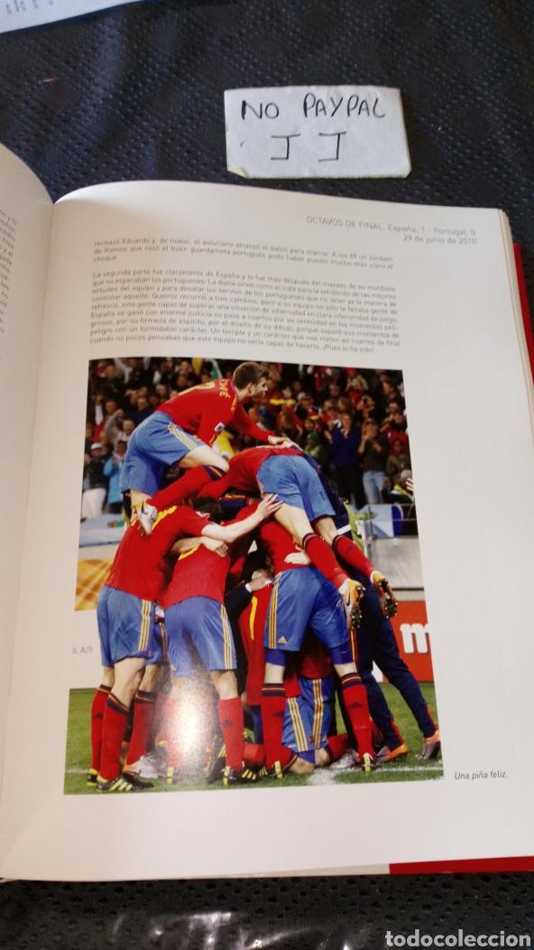 Libros de segunda mano: Gran libro españa campeon del mundo 2010 fútbol real federación española ver fotos estado - Foto 5 - 222856320