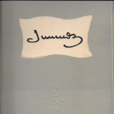 Libros de segunda mano: JUNCEDA. BCN : AMIGOS DE JUNCEDA FOMENTO DE LAS ARTES, 1952. 32X23 CM. XIV + 224 P. IL.. Lote 222875096
