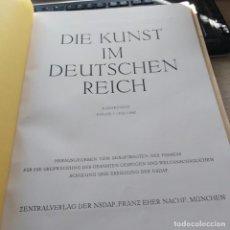 Libros de segunda mano: DIE KUNST IM DEUTSCHEN REICH 6 JAHRANG FOLGE 7 / JULI 1942 EL ARTE EN EL III TERCER REICH. Lote 222879832